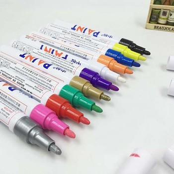 Windshield paint markers (15mm tip) – car window paint pens for.