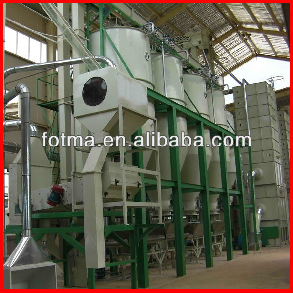 30-150T/D China Parboiling Rice Mill Machine