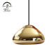Europe style Brass color vintage industrial lamp pendant light