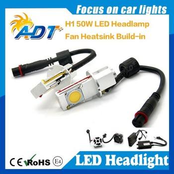 6000lm H1 Led Car Head Light Bulb Xenon White 6000k Car Headlights ...