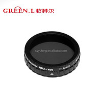 Green.L Hot Sale DJI Phantom 3 adjustable ND2-400 Filter Optical Drone Lens Filter dji neutral density filter