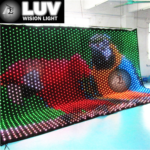 Flexible Indoor Led Screen / Flexible Led Display Panel / Soft Led ...