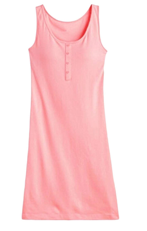 392e2afd8b Get Quotations · Generic Womens Built in Bra Pajama Sleepwear Nightgown  Sleep Dress