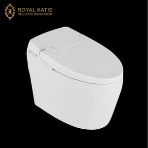 Siphon jet flushing closet dual-flush sanitary wares white smart toilet automatic flush one piece toilet