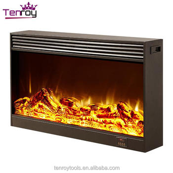 Inserted Dimplex Electric Heating Fireplace Core With Remote Control