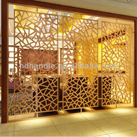 Interior wall paneling modern folding screens