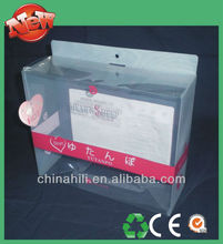 China Manufacture Wholesale OEM custom printed Clear Plastic boxes for Retail Packaging Display