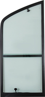 rv parts sliding insect screen window bus aluminium vertical sliding window
