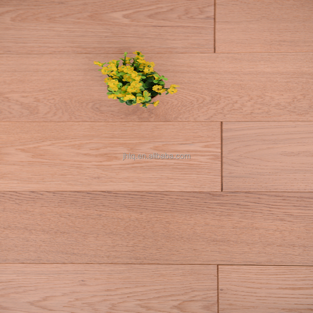 Silver Grey Oil Oak Brushed Multilayer Engineered Solid Wood Flooring