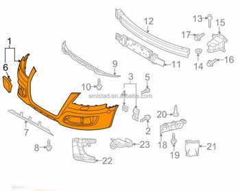 Auto Car Parts Front Bumper Oem Pegru For Audi A - Oem audi parts