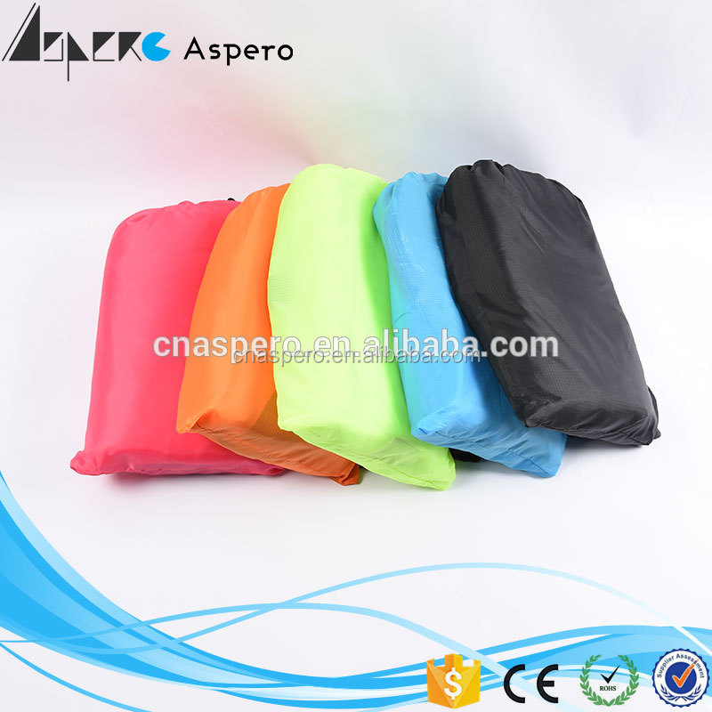 Customized outdoor sleeping pad fast filling inflatable lazy sofa bean bag