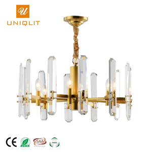 Free Sample Project Customized Elegant Glamorous Crystal Chandelier Luxury For Hotel Lobby