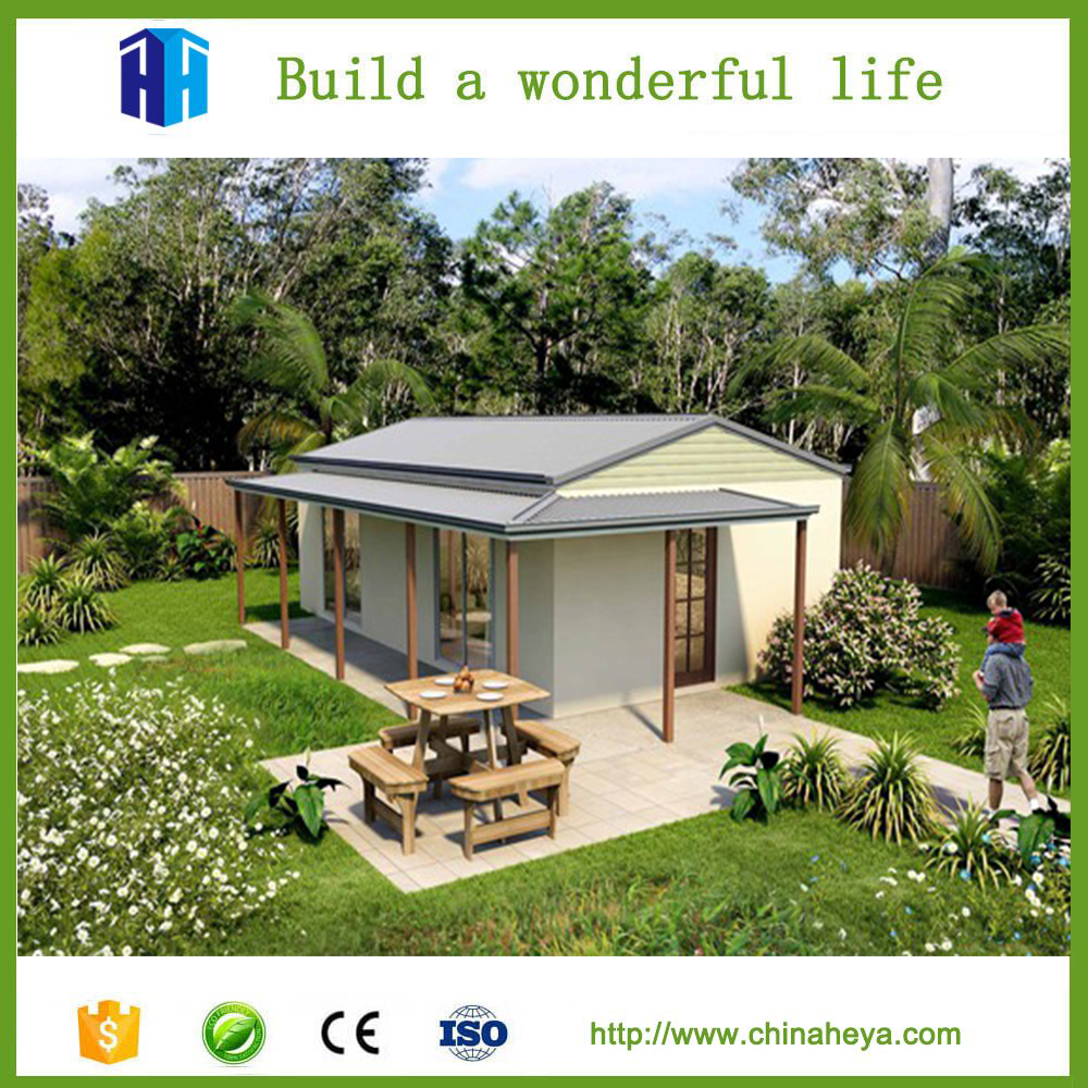 2017 Premade gable roof prefab house structures kit homes Florida