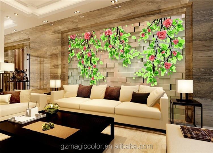 3d personalizado impermeable murales de pared papel tapiz for Papel de pared precio