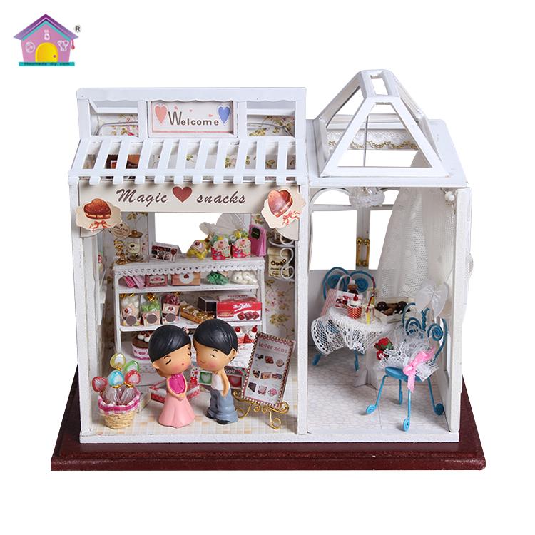 Assembled Diy Miniature Dollhouse Plan Toys Wooden Toys Buy Plan