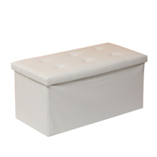 Fashion Cloth box Sit on the sofa stool storage box