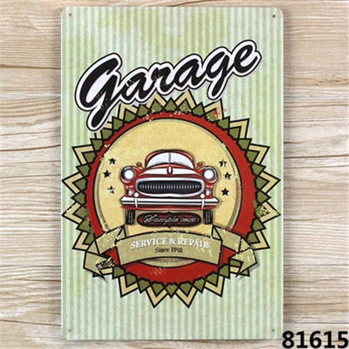 New 2015 metal Tin signs about car Retro home decoration House Cafe bar Vintage Metal Painting 20X30 CM  A1422