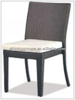 Classic Plastic Rattan Woven Furniture Outdoor Chair