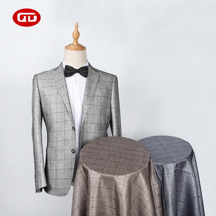 Shaoxing טקסטיל פורמליות ללבוש מכנסיים חומר המניה אריג בד לגברים