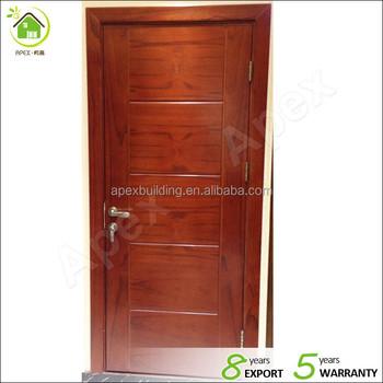 Internal Wood Door Design Solid Wood Interior Door Modern Style