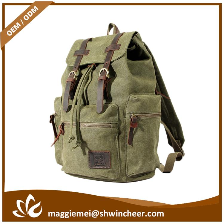Brand new canvas clutch, backpack custom, backpack hiking