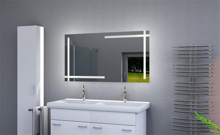 Grote Led Verlichte Badkamer Spiegel Wandmontage Met Defogger En ...