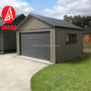 Prefabricated galvanized steel frame car garage comply with Australian standard