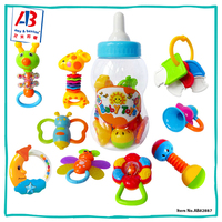 Best Products Plastic Educational Toys Soft Baby Rattle