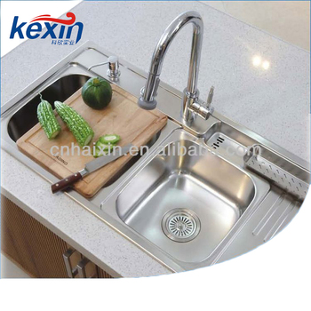 Triangle Kitchen Stainless Steel Sink