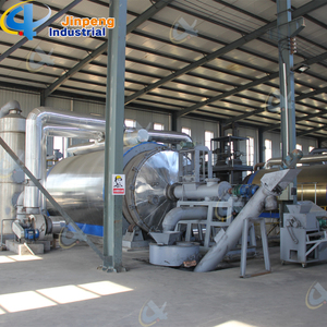 Environmental Used Waste Tire Recycling Machine Pyrolysis Plant