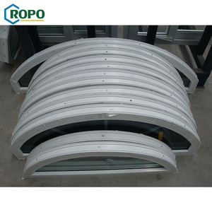 AS2047 Design Australia Certificate Ropo Factory Price Half Round PVC Arch Window