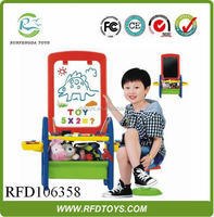 Drawing Board Stand Learning Easel Kids Magnetic Drawing Board ...