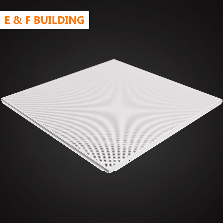 new design Popular 600*600 Building Material Ceiling Board 600 x 600 acoustic aluminum ceiling tiles panel for schools