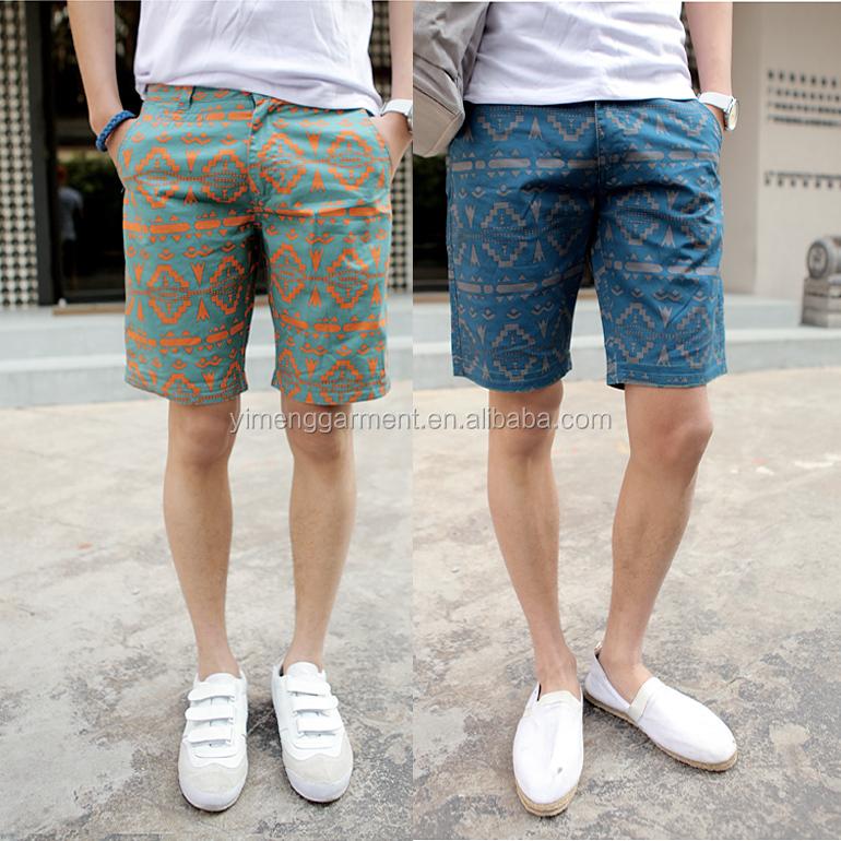 f55cf0b61aeef Los hombres de moda al por mayor chino shorts Capri pantalones cortos para  los hombres