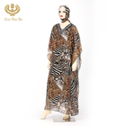 Free sample muslim maxi dress abaya clothing muslim arabic women kaftan dress with hijab