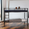 Modern design simple Home bedroom furniture children's room steel double decker bed
