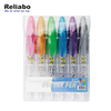 Reliabo Plastic Promotion Custom Printed Personalized Glitter Gel Pen