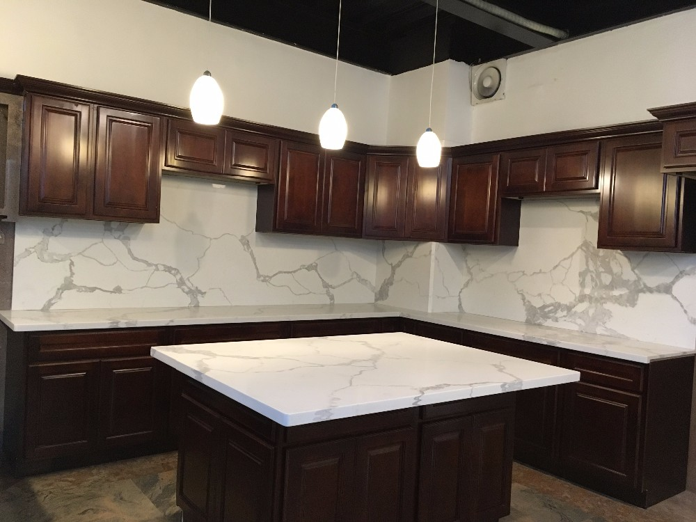 Home Depot Artificial Marble Quartz Stone Wholesale Buy Kitchen Countertop