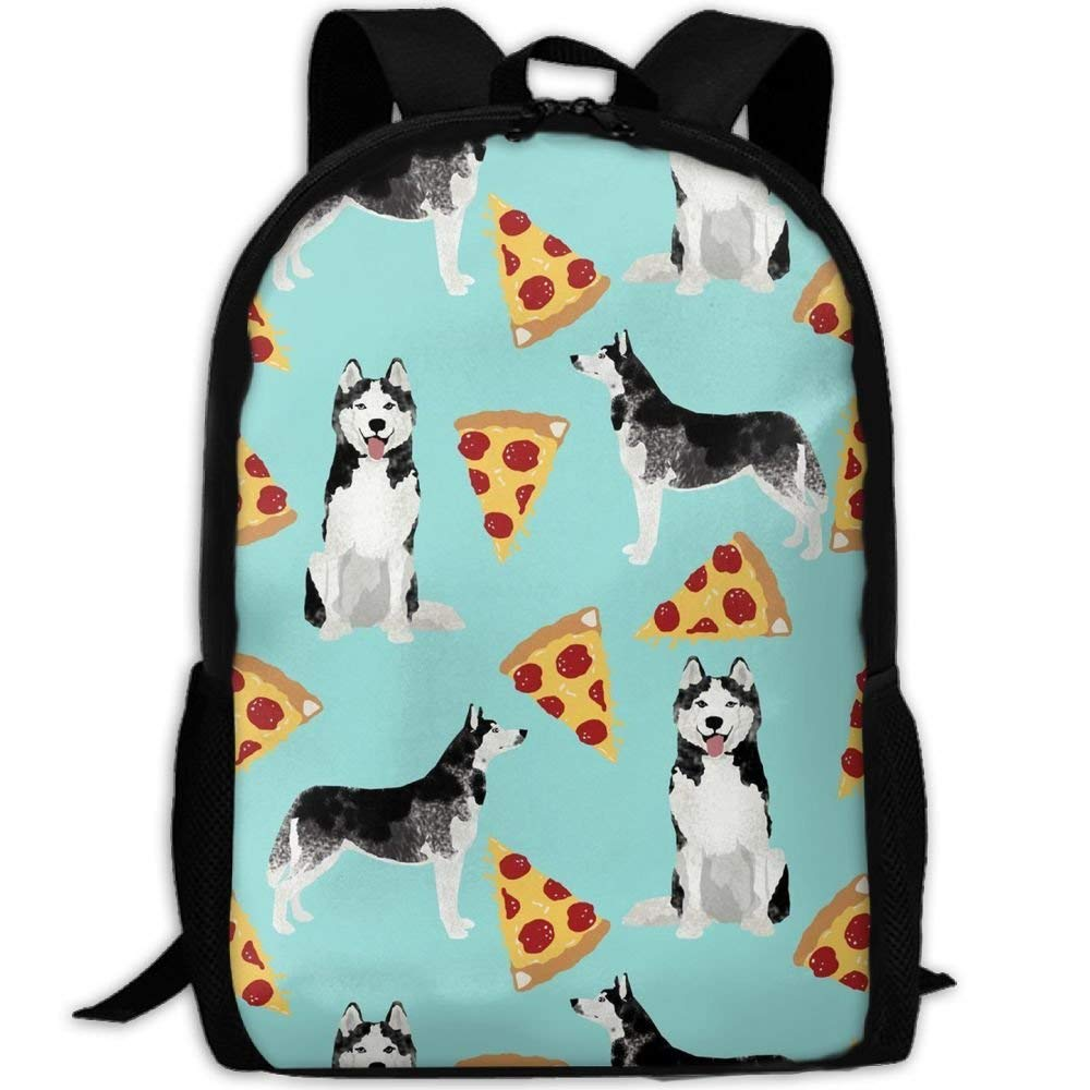 3755abe24491 Get Quotations · SDEYR79 Husky Pizza Stylish Laptop Backpack School Backpack  Bookbags College Bags Daypack