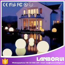 High quality plastic LED lighting ball Remote control color changing LED ball for decoration