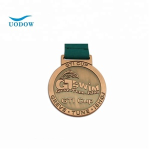 Custom award medals gold plated medals sports medals