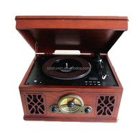 New skywin wooden Turntable with CD Recorder & radio
