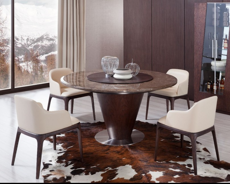 Estilo chino moderno redondo de m225rmol mesa de comedor  : Modern Chinese Style Round Marble Dining Table from spanish.alibaba.com size 808 x 645 jpeg 129kB