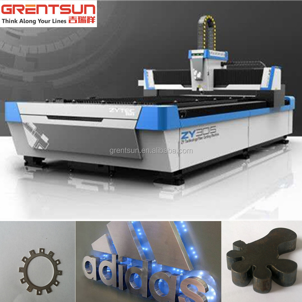 Desktop fiber laser cutting machine laser cutting for stencil fonts/ tempered glass