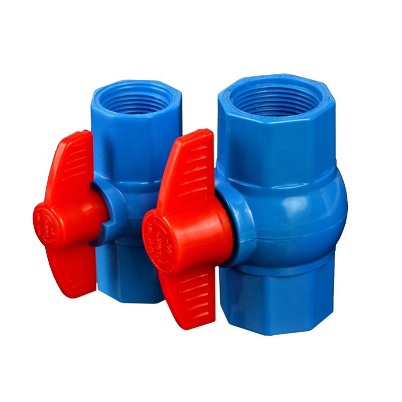 סטנדרטי PVC אבזרי צנרת מתומן כדור שסתום הזרקת מכונת דפוס