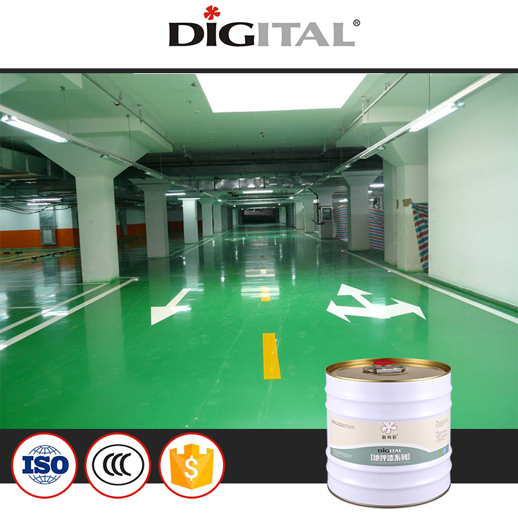 Anti-corrosion solvent epoxy floor paint
