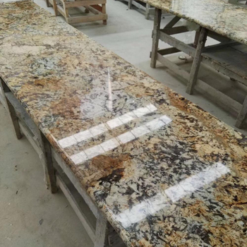Gold Persa Golden Granite Countertops