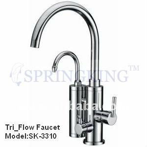 2011 New Hot And Cold RO Filter Tri-Flow Kitchen Mixer Tap