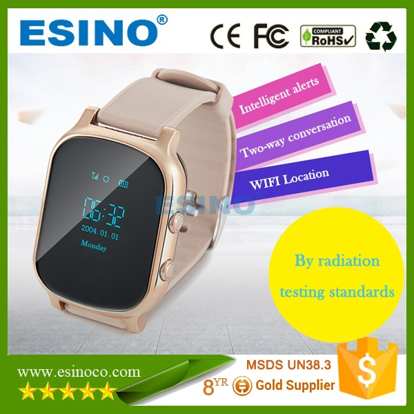 gps kids security watch, gps elderly security watch tracking device