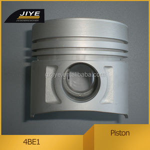 Construction machinery engine parts 4BE1 piston 105mm